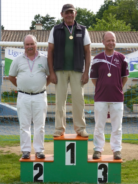 Podium VHCO Ligue Fita2013