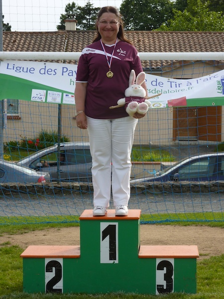 podium VFCL Ligue Fita2013